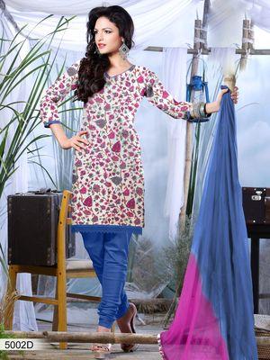 Designer Dress Material DRAPE 5002 D