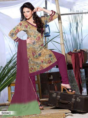 Designer Dress Material DRAPE 5004 C