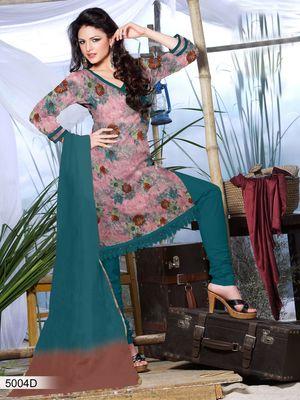 Designer Dress Material DRAPE 5004 D