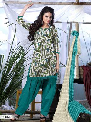 Designer Dress Material DRAPE 5005 D