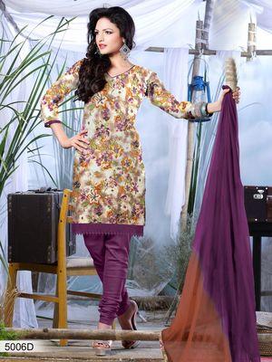 Designer Dress Material DRAPE 5006 D