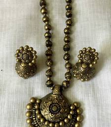 Buy antique gold and Terracotta jewellery terracotta-jewelry online