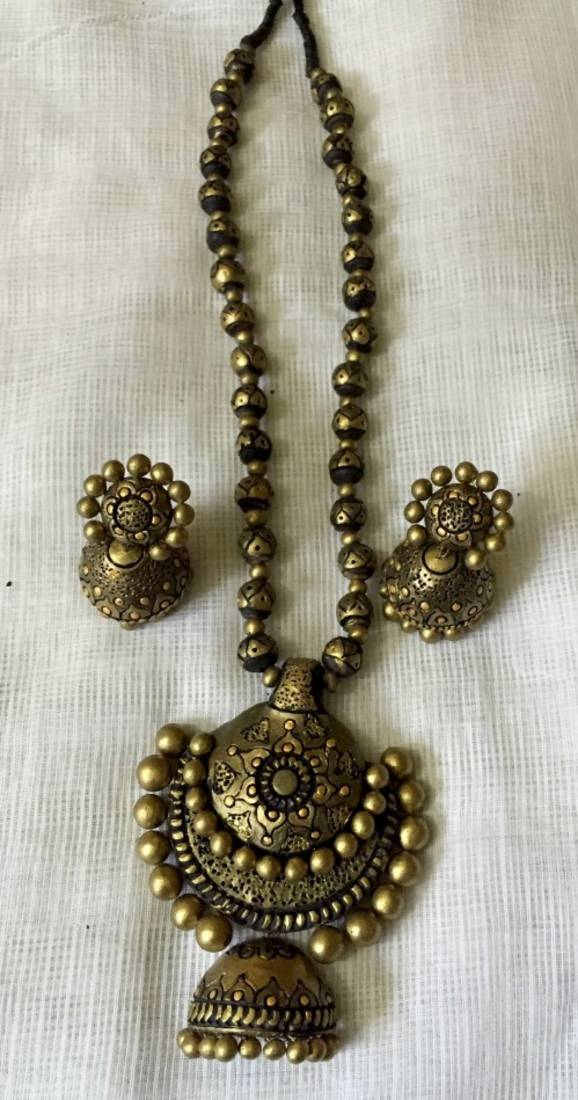 Buy Antique Gold And Terracotta Jewellery Online