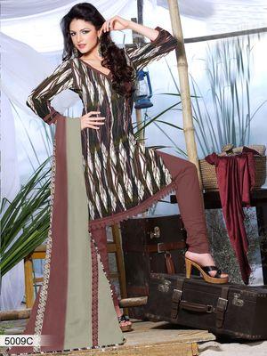 Designer Dress Material DRAPE 5009 C