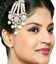 Buy Beautiful  White Side Pasa eid-jewellery online