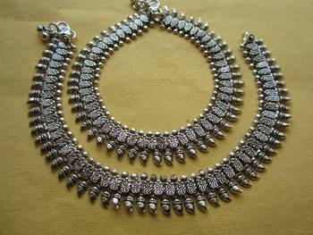 Oxidized Payal/Anklet