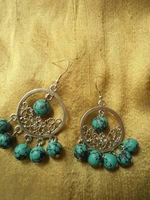 Tibtan Style Earrings -01025