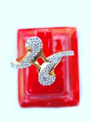 Stylish AD Maayra Finger Ring