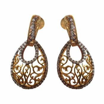 Gold coloured Danglers