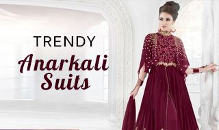Trendy anarkali suits main